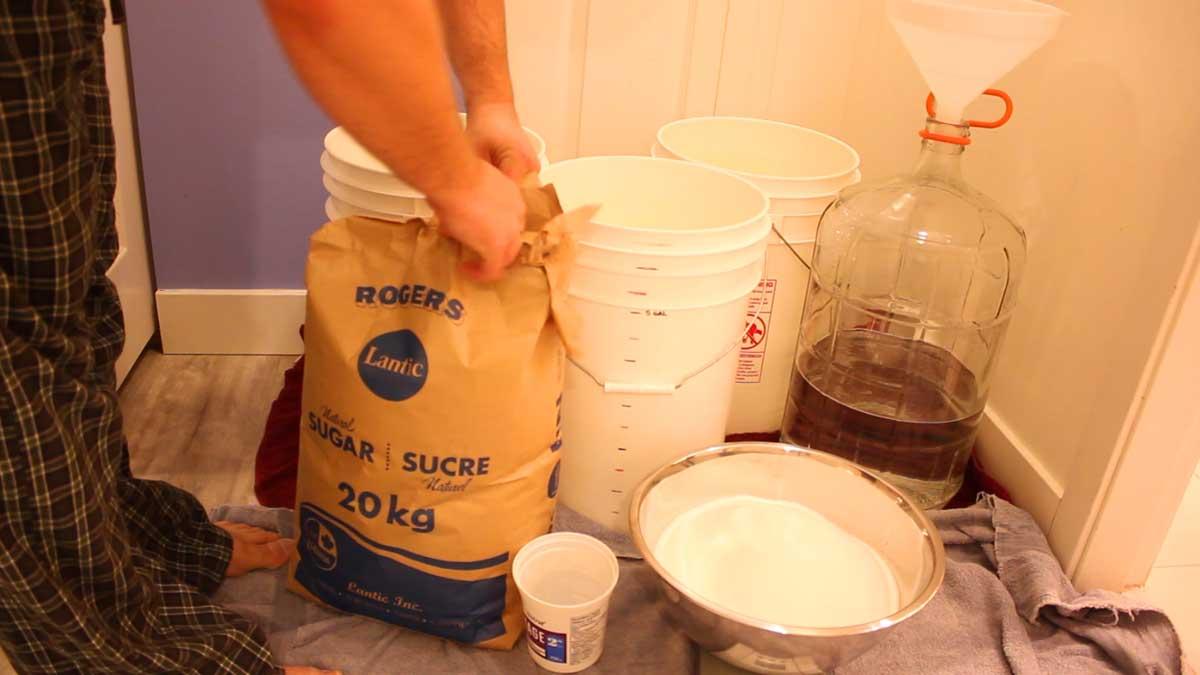 sugar wash